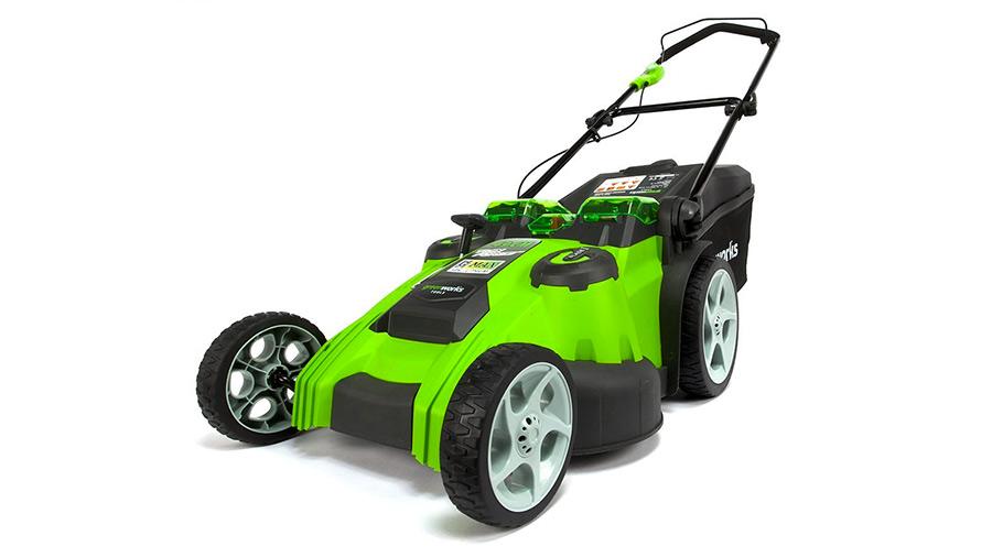 Test et avis de la tondeuse sur batterie Greenworks 2500207VC