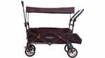 Chariot de transport pliable marron FX-CT800 FUXTEC