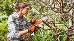 La scie de jardin à batterie STIHL GTA 26