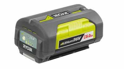 test et avis batterie Ryobi 36 V 5,0 Ah BPL3650 prix pas cher