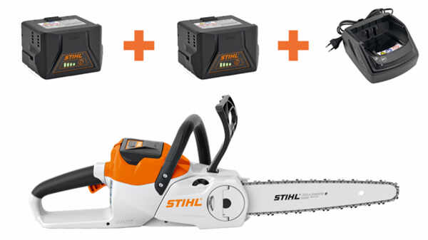 La tronçonneuse STIHL MSA 140 C-B - Pack 2 batteries