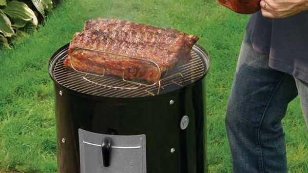 Barbecue à charbon WEBER Fumoir Smokey Mountain Cooker 47 cm
