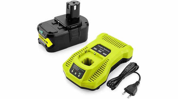 Chargeur de batterie Powilling compatible RYOBI ONE+