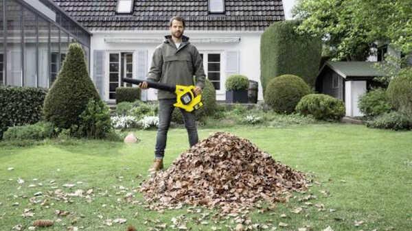 Souffleur de feuilles sans fil LBL 4 Battery 14451600 Kärcher
