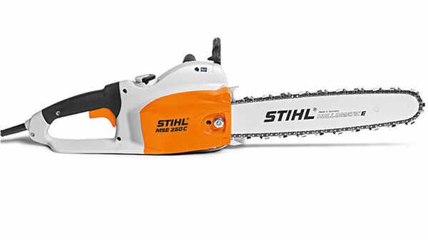 La tronçonneuse électrique MSE 250 STIHL