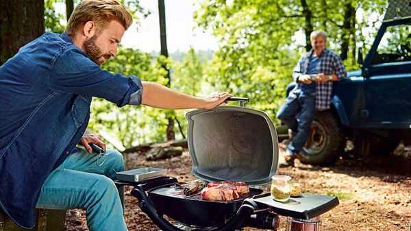 Barbecue à gaz Q1200 Weber