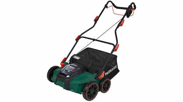 Scarificateur et aérateur de pelouse sans fil Parkside PLVA 40 - Li A1 20 V