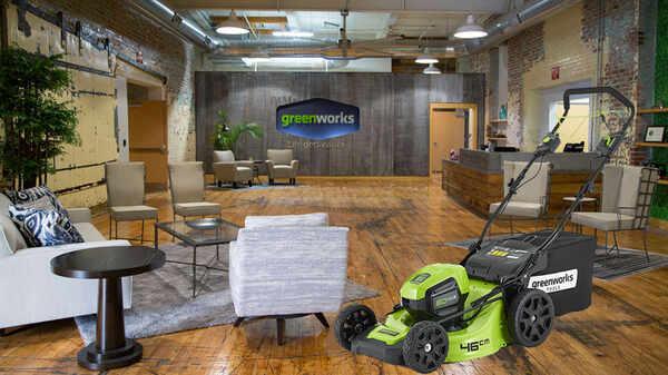 Présentation de la marque Greenworks et des nouveautés 2018