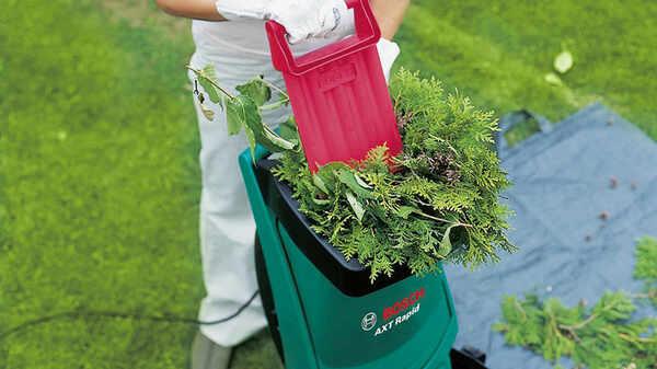Broyeur vegetaux AXT Rapid 2000 Bosch