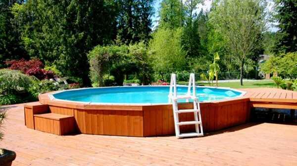 Meilleures piscines hors-sol et semi-enterrées