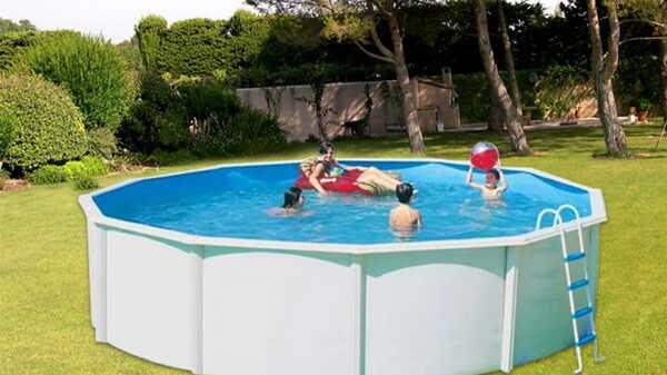 Meilleures piscines en acier