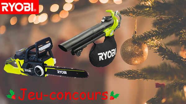 Outils RYOBI jardin ONE+ spécial Noël