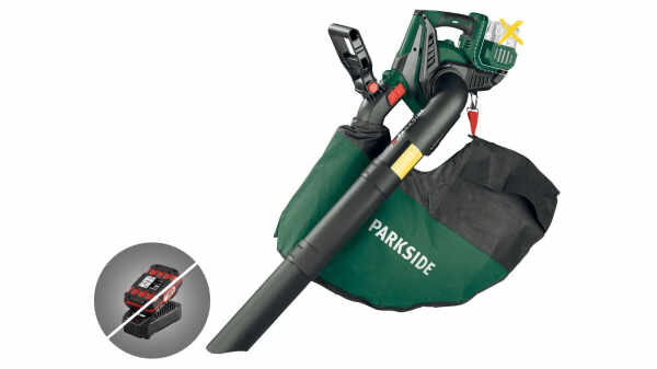 Aspirateur souffleur ou broyeur Parkside PLSA 40 - Li B1, 20 V