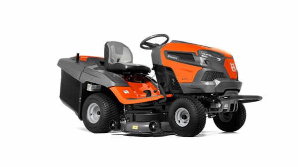 Tracteur de pelouse auto-porté à bac arrière TC 242TX Husqvarna