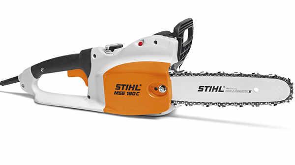 La tronçonneuse électrique MSE 190 STIHL