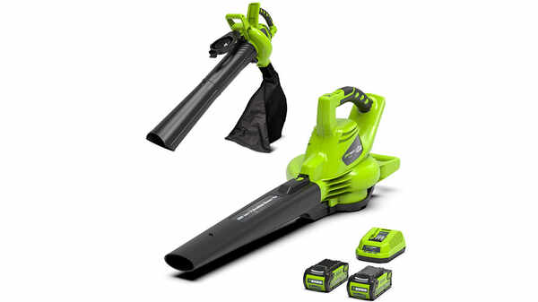 Souffleur aspirateur 24227 Greenworks