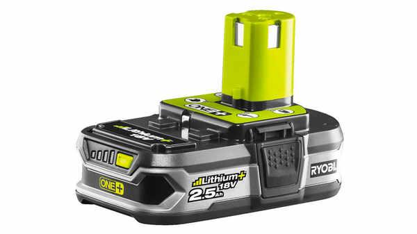 Batterie Ryobi ONE + 18 V 2,5 Ah RB18L25