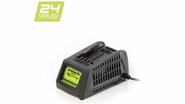 test et avis chargeur greenworks G24UC 2903607 pour batteries 24 V prix pas cher