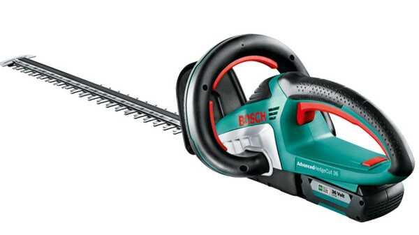 test et avis du Taille-haies sans-fil AdvancedHedgeCut 36 Bosch prix pas cher