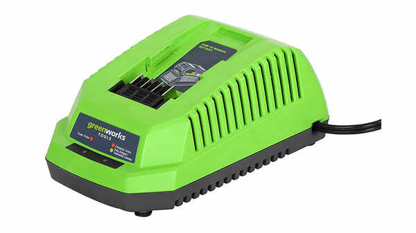 test et avis chargeur greenworks G40UC pour batteries 40 V prix pas cher