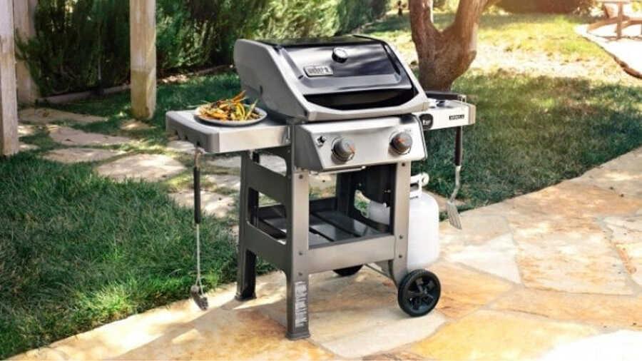 Barbecue Spirit II E-210 Plancha Weber