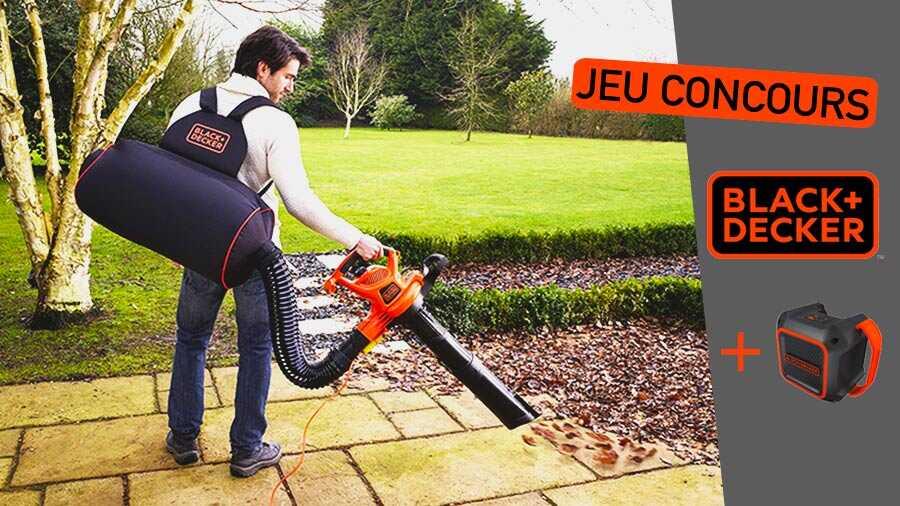 Jeu-concours : outils jardin BLACK+DECKER à gagner