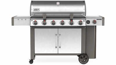 Barbecue à gaz Genesis II LX S-640 GBS Weber
