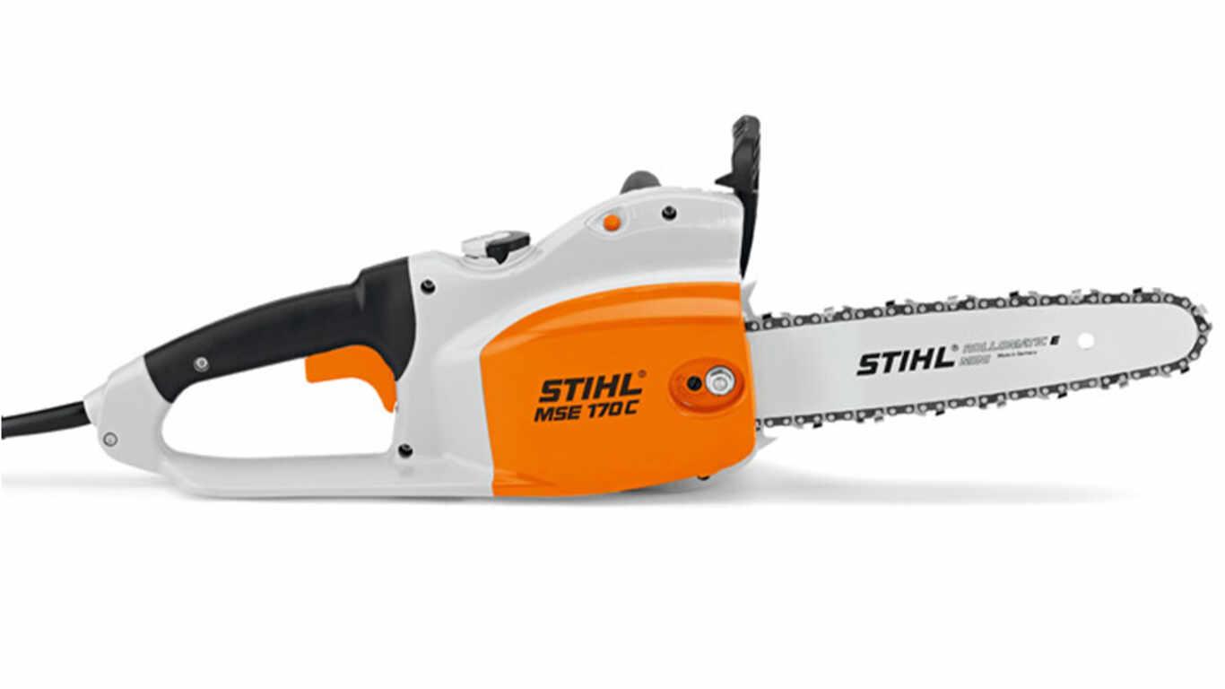 La tronçonneuse électrique MSE 170 STIHL