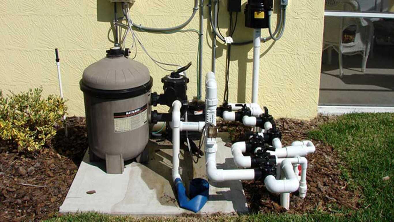 Système de filtration de piscine