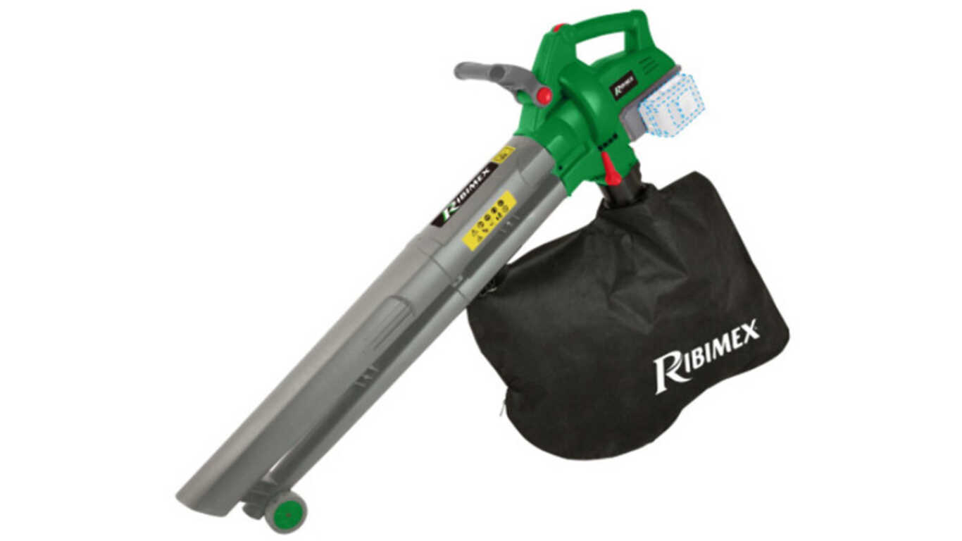 aspirateur broyeur souffleur sur batterie PRBAT20/ASBSB Ribimex