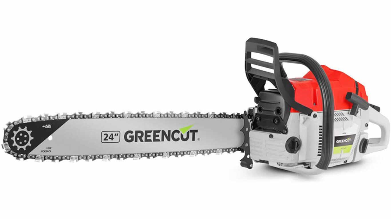 Tronçonneuse thermique 75 cc Greencut GS7500 24