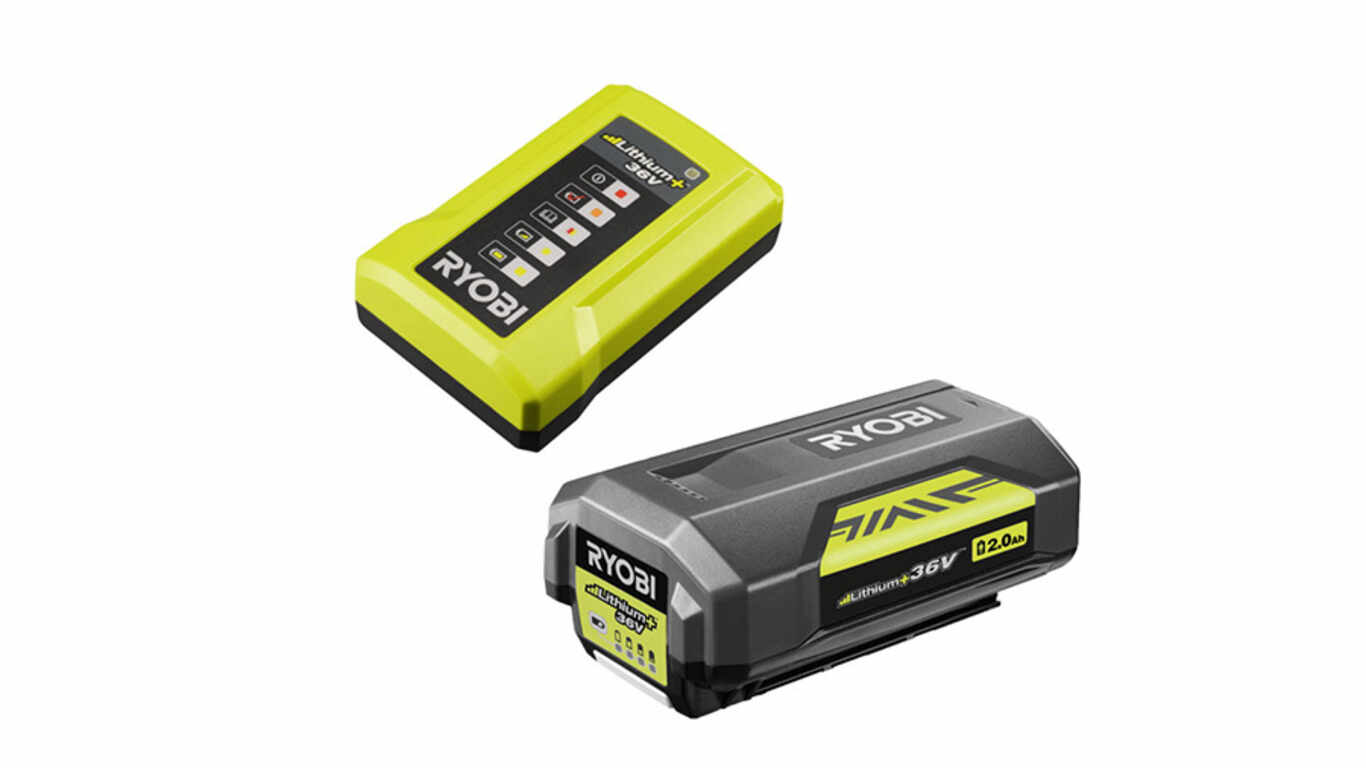 Pack batterie chargeur 36 V Ryobi RY36BC17A-120