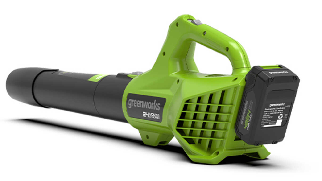 Le souffleur à batterie 24V Greenworks G24ABO