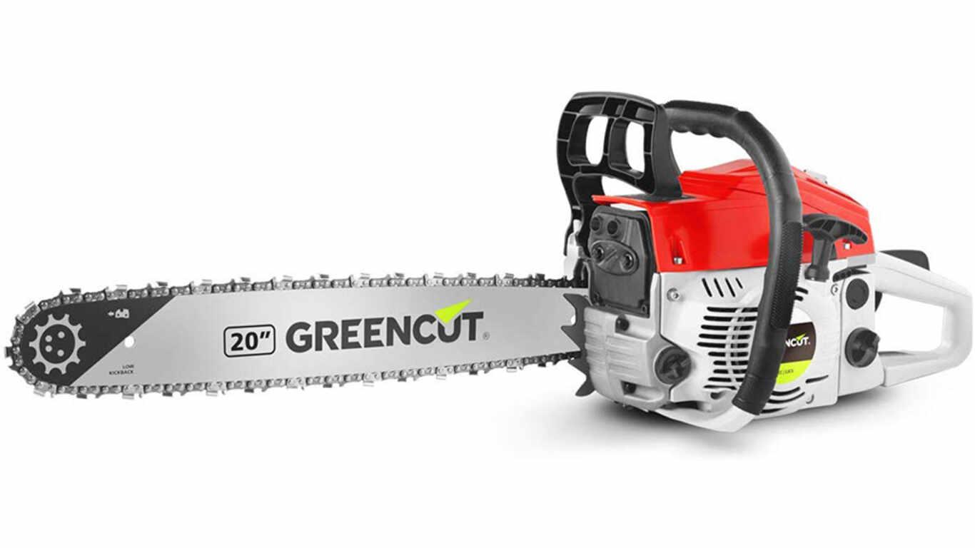 Tronçonneuse d'élagage thermique 62 cc Greencut GS620x