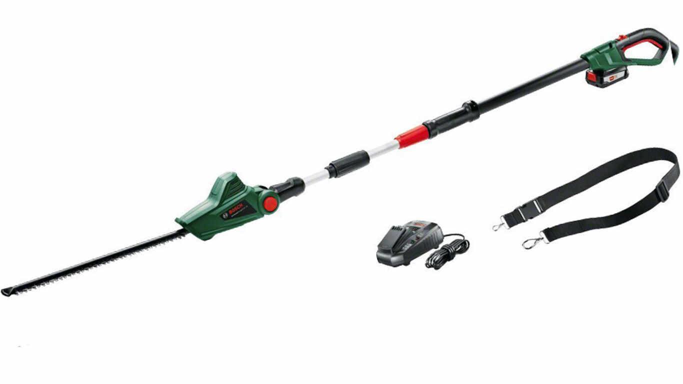 test et avis du Taille-haies télescopique sans-fil UniversalHedgePole 18 Bosch prix pas cher