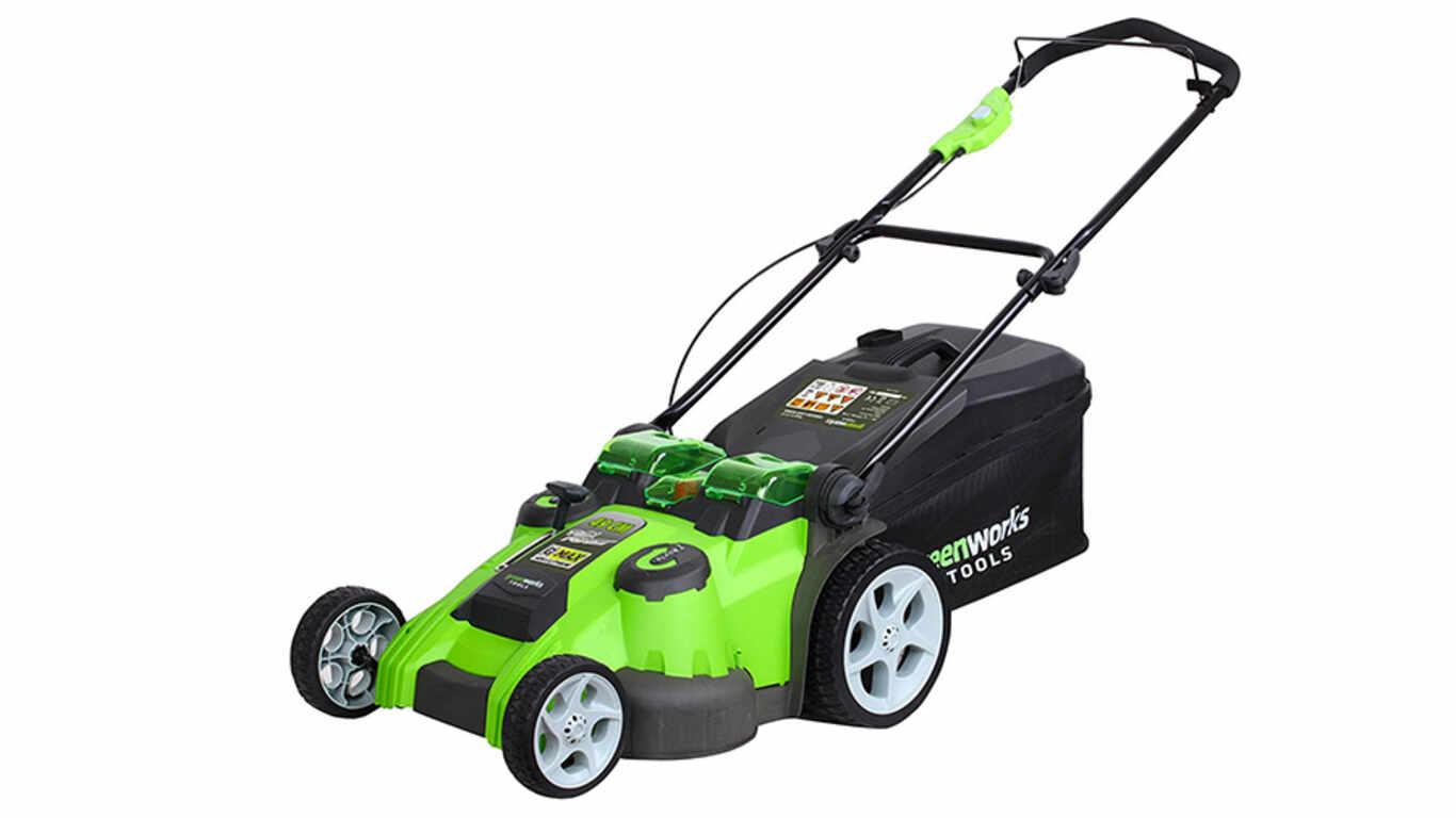 Test et avis de la tondeuse sur batterie Greenworks 2500207