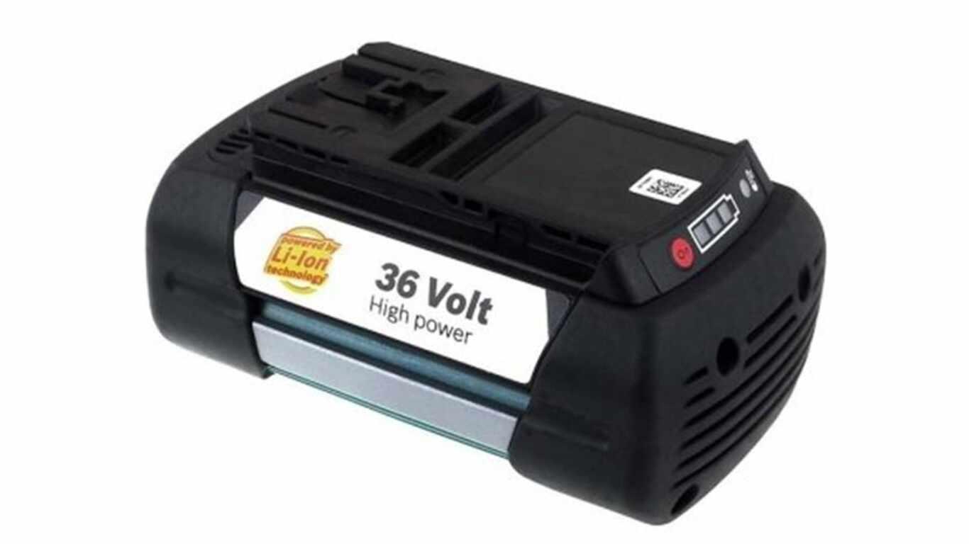 test et avis batterie de remplacement Bosch 36 V 2.6 Ah F016800301