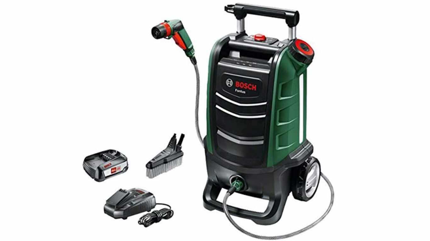 test et avis nettoyeur basse pression Bosch Fontus 06008B6000 promotion pas cher