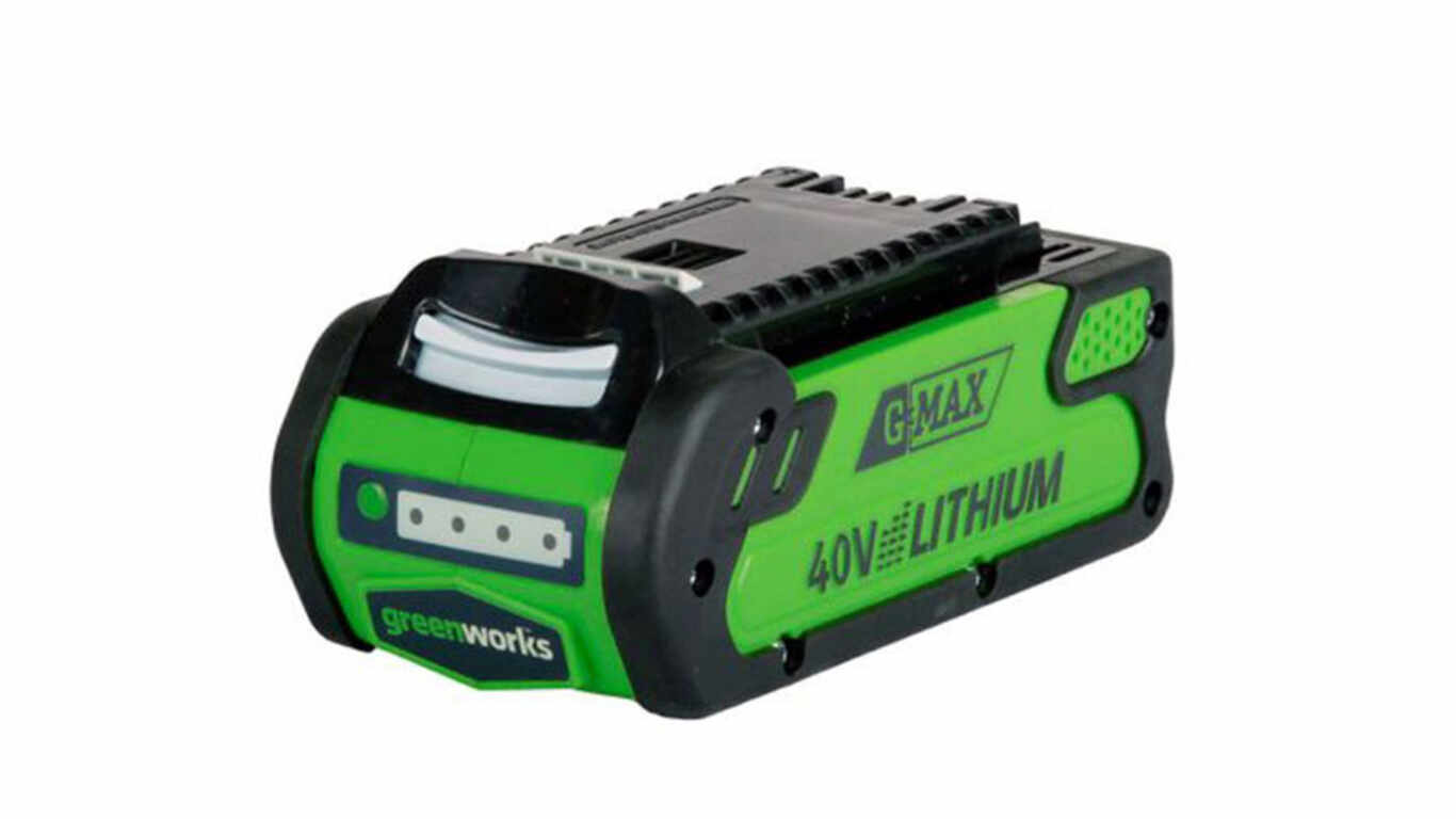 test et avis batterie greenworks 40 V 2,0 Ah G40B2 prix pas cher